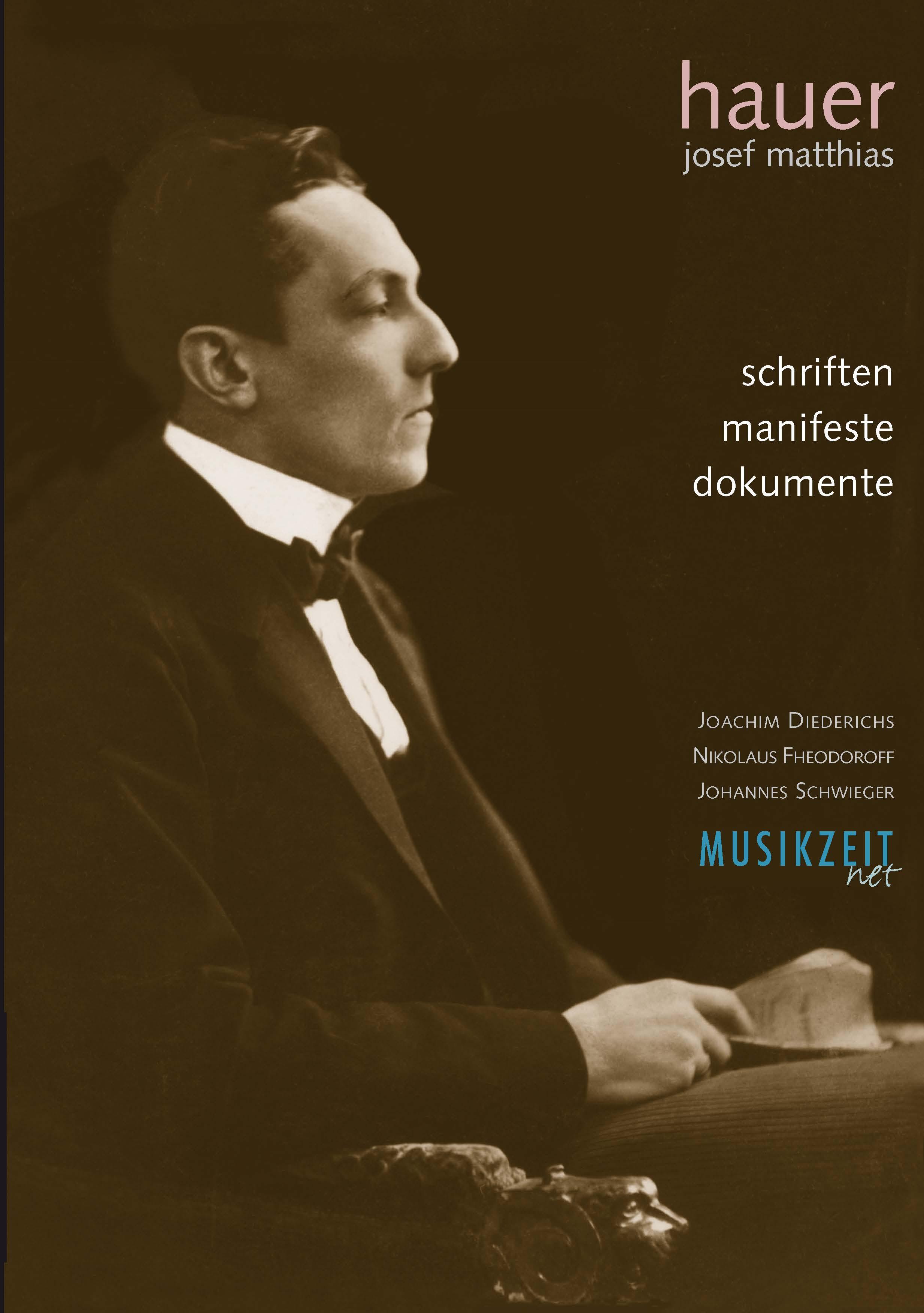 """Hauer """"Schriften Manifeste Dokumente"""""""