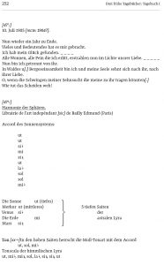 Weberns frühe Tagebücher I, II, III