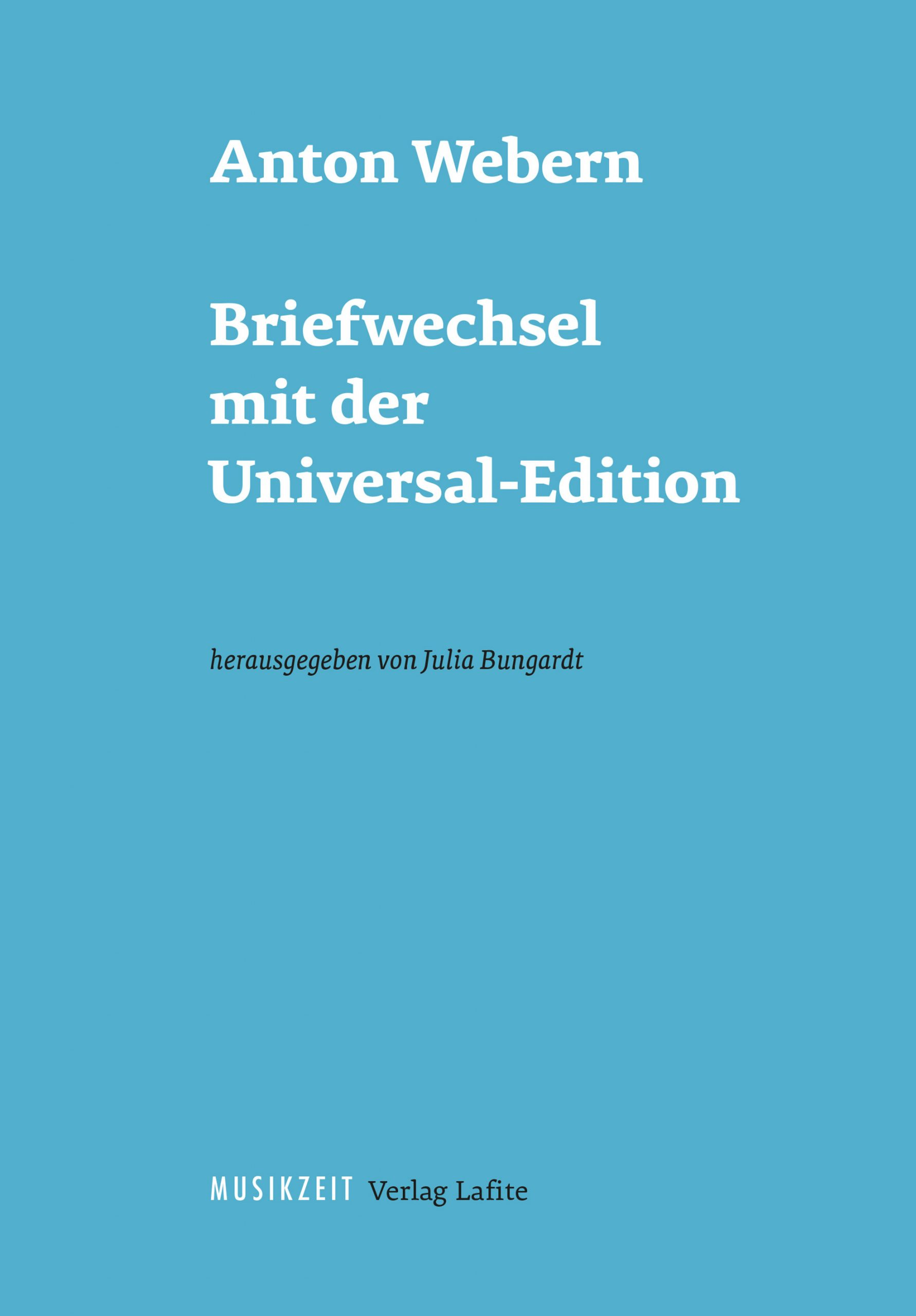 Band 5: Webern-Studien